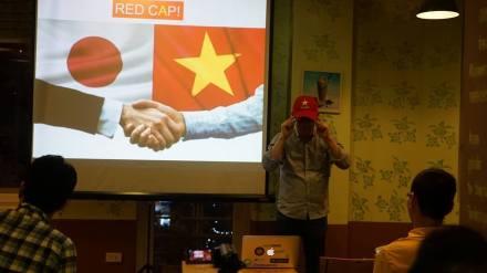 The red cap
